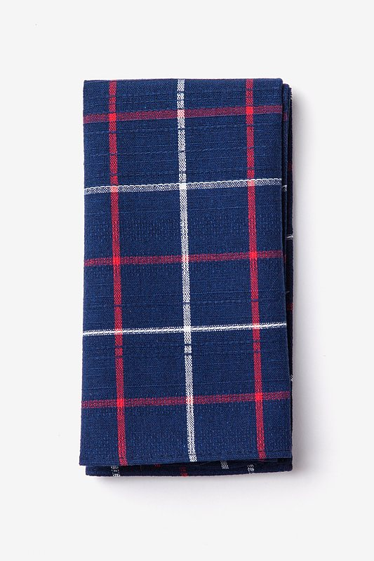 Maricopa Navy Blue Pocket Square Photo (0)