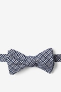 Navy Blue Animator Self-Tie Bow Tie