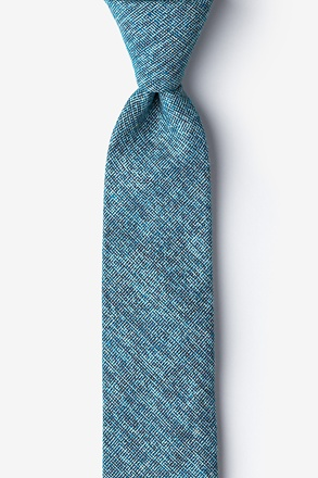 Navy Blue Thompson Skinny Tie