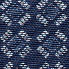 Navy Blue Cotton Nixon Skinny Tie