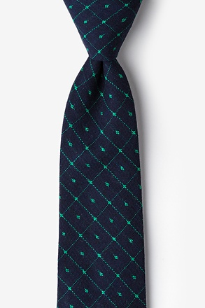Pala Navy Blue Extra Long Tie