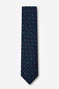 Pala Navy Blue Skinny Tie Photo (1)