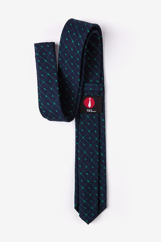 Pala Navy Blue Skinny Tie Photo (2)