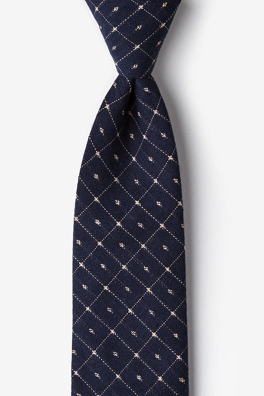 Pala Navy Blue Tie Photo (0)