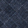 Navy Blue Cotton Prescott Extra Long Tie