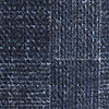 Navy Blue Cotton Prescott Pocket Square