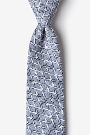 Redmond Navy Blue Extra Long Tie