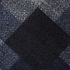Navy Blue Cotton Richland Extra Long Tie