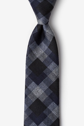 Richland Navy Blue Extra Long Tie