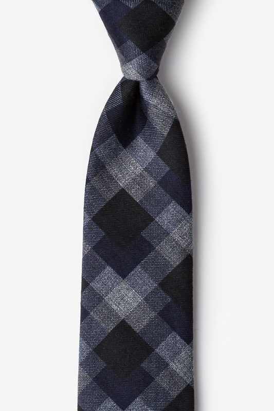 Richland Navy Blue Extra Long Tie Photo (0)