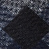 Navy Blue Cotton Richland Pocket Square