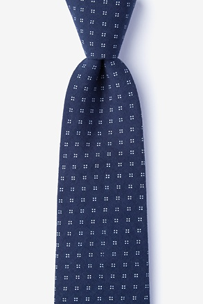 _Ross Navy Blue Tie_