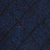 Navy Blue Cotton San Luis Butterfly Bow Tie