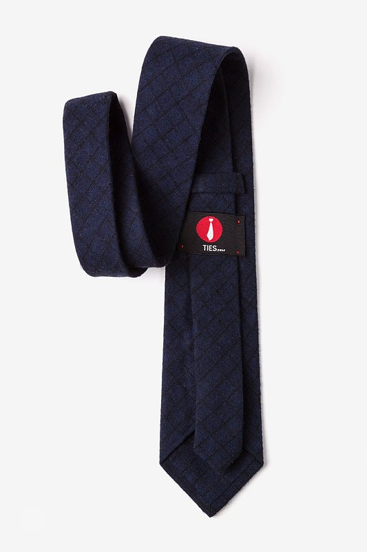 San Luis Navy Blue Extra Long Tie