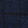 Navy Blue Cotton San Luis Pocket Square