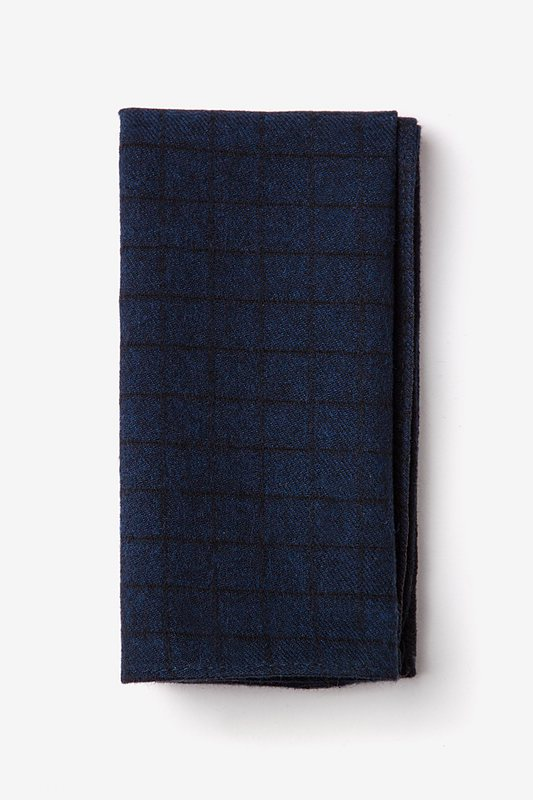 San Luis Navy Blue Pocket Square Photo (0)