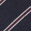 Navy Blue Cotton Seagoville Self-Tie Bow Tie