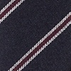 Navy Blue Cotton Seagoville Skinny Bow Tie