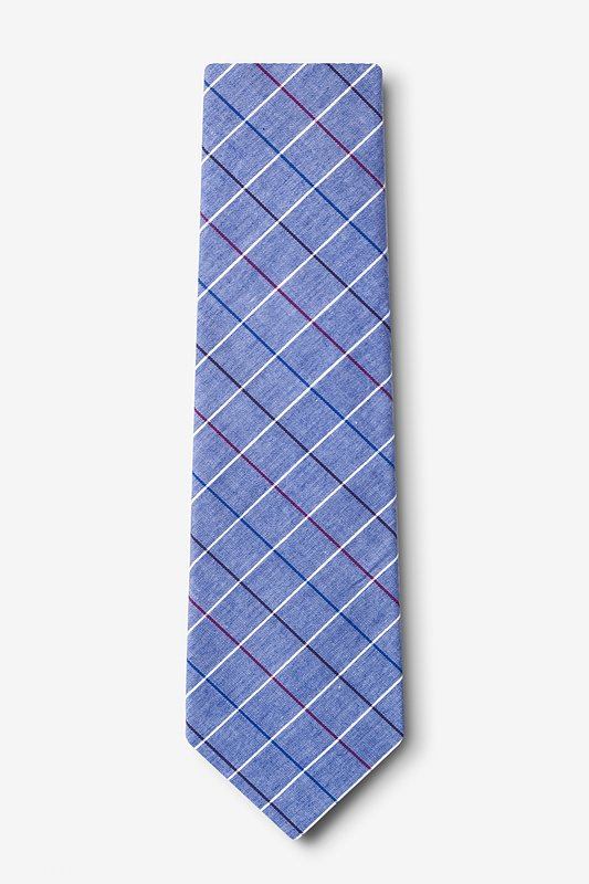 Seattle Navy Blue Extra Long Tie Photo (1)