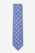 Seattle Navy Blue Skinny Tie Photo (1)