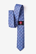 Seattle Navy Blue Skinny Tie Photo (2)