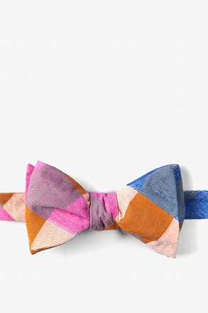 Tailor Check Butterfly Bow Tie
