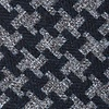 Navy Blue Cotton Tempe Extra Long Tie