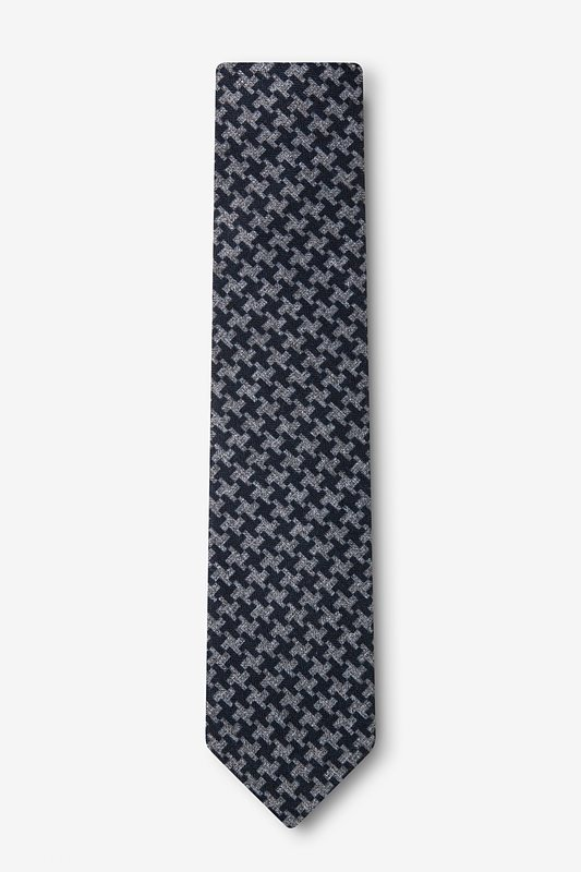 Tempe Navy Blue Skinny Tie Photo (1)