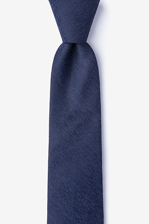 Tiffin Navy Blue Skinny Tie