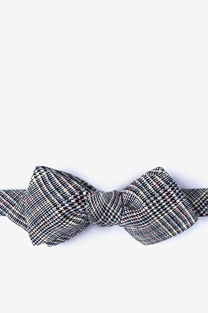 Travon Diamond Tip Bow Tie