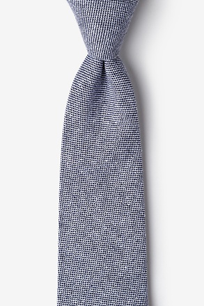 _Westminster Navy Blue Extra Long Tie_