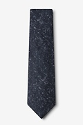 Wilsonville Navy Blue Extra Long Tie Photo (1)