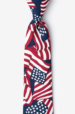 _4th of July Tie For Boys_