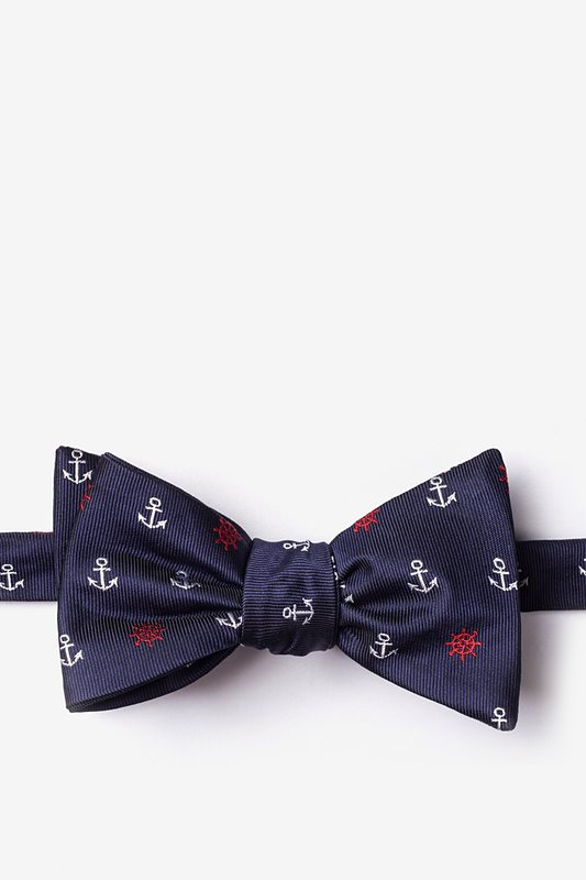 Anchors & Ships Wheels Self-Tie Bow Tie