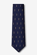 Antique Keys Extra Long Tie Photo (1)