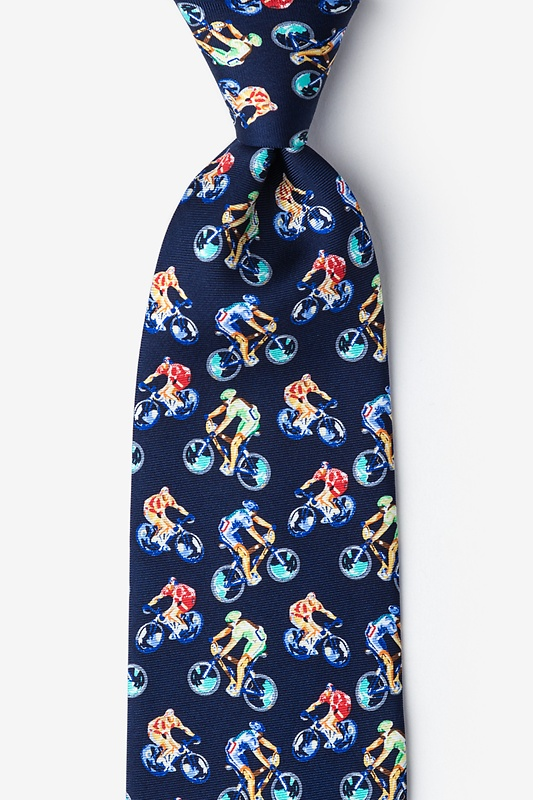 Bicycle Race Tie
