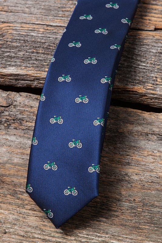 Bicycles Skinny Tie Photo (2)