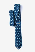Blue Whales Skinny Tie Photo (1)