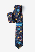 Colorful Fish Tie For Boys