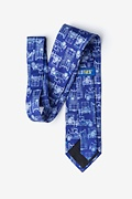 Ford Model T Navy Blue Extra Long Tie Photo (1)