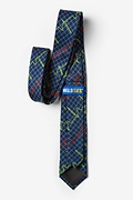 Heart Beats Navy Blue Skinny Tie