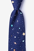 Outer Space Extra Long Tie