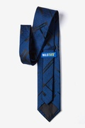 Periodic Table Navy Blue Extra Long Tie Photo (2)