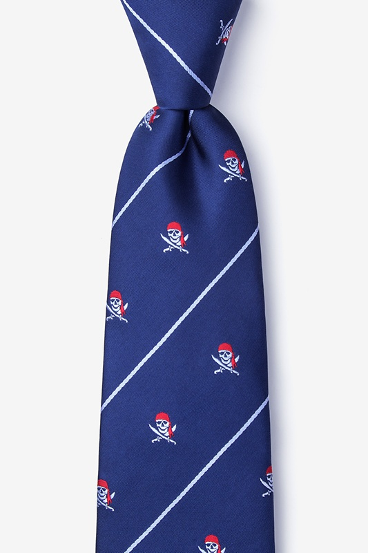 Pirate Skull and Swords Tie Photo (0)