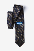 Scales of Justice Blue Tie
