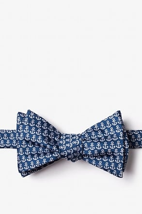 Small Anchors Self-Tie Bow Tie