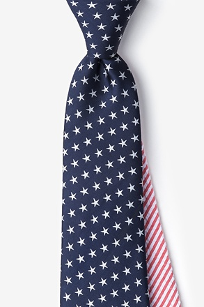 _Stars & Stripes Extra Long Tie_