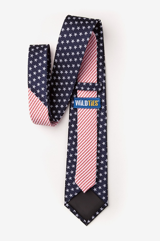 Stars & Stripes Navy Blue Tie