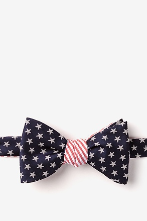 Stars & Stripes Reversible Self-Tie Bow Tie