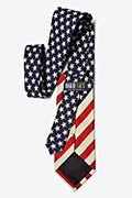 Stars and Stripes Navy Blue Tie